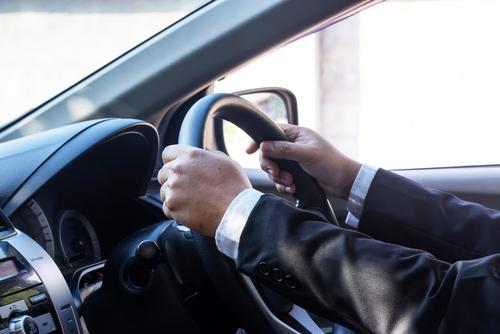 zakelijk rijden in een lease auto